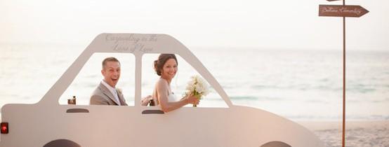 Una boda en la playa!
